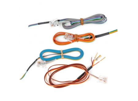 6 Replacement Modular Cables for DAM50 Bioamplifier