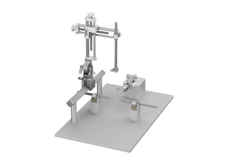 Stereotaxic Frame, Rail-Mounted Single Manipulator for Rat, 18 deg Ear Bars