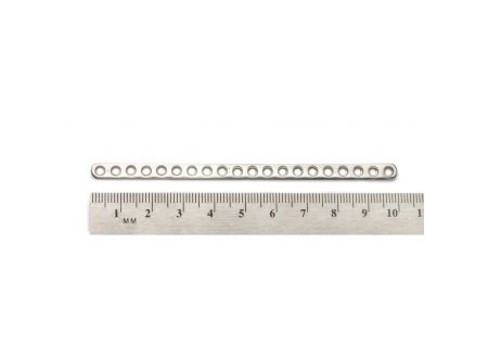 2.0mm Straight Plate, 20 hole
