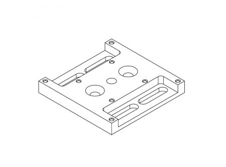 Mounting Adapter Plate for SU Manipulators