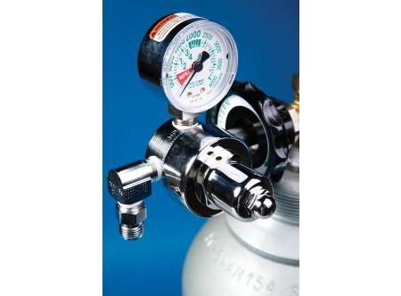 Anesthesia Oxygen Regulator for Large Tank