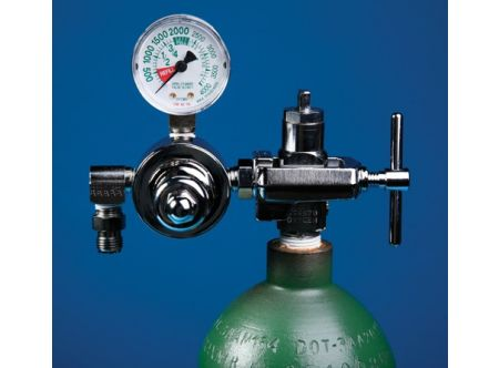 Anesthesia Oxygen Regulator for Small Tank