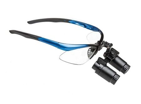 Binocular Loupes with prism, 4.0X, 50cm