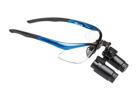 Binocular Loupes with prism, 4.0x, 34cm