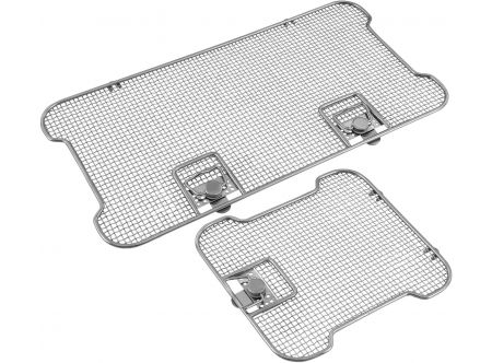 Lids for Crimped Wire Mesh Sterilization Baskets, Detention Frame
