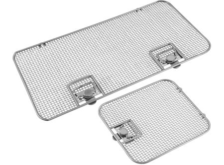 Lids for Crimped Wire Mesh Sterilization Baskets, Single Frame