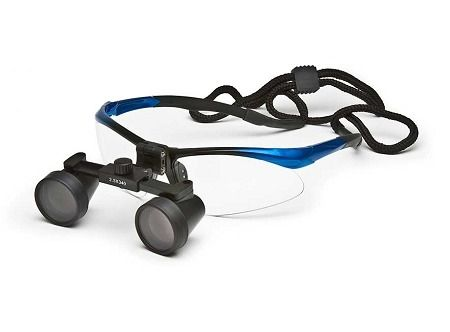 Galilean loupes, Sport frame, 3.5X, 50cm working distance