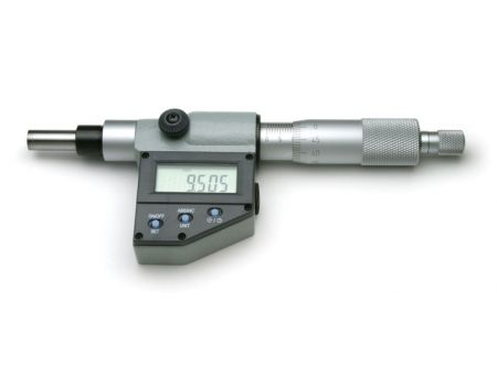 Non-Rotating Spindle Digital Micrometer Head