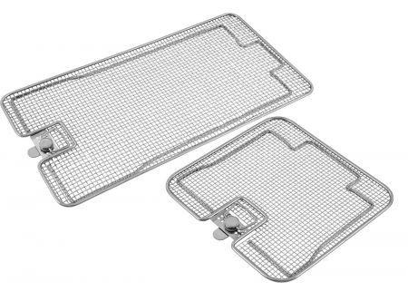 Lids for Perforated Sterilization Baskets, Double Frame