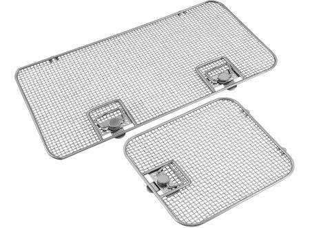 Lids for Perforated Sterilization Baskets, Single Frame