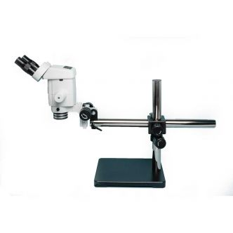 Precision Stereo Zoom Binocular Microscope (IV) on Boom Stand