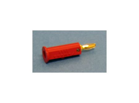 Red Insulated Mini Banana Plug