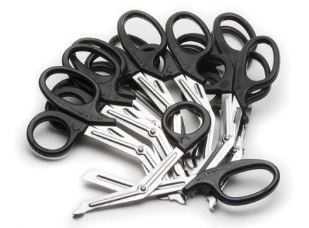 Tuff Cut Scissors, 18cm, Plastic handles, 12-pack