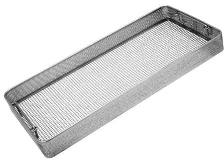 Sterilization Baskets, Side Perforated, Flat Base
