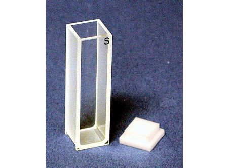 Standard Rectangular Quartz Cuvette, 10mm path, Style C