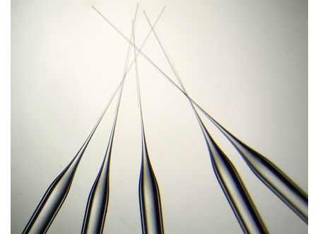 Pre-Pulled Glass Pipettes, Long taper