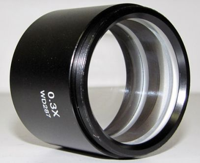 0.3X Long Working Distance Objective Lens