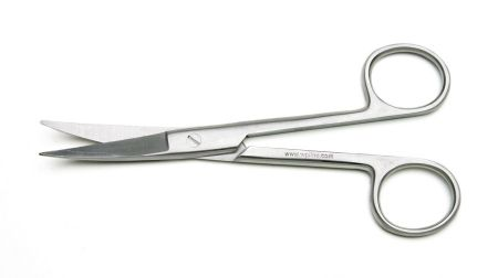 Operating Scissors, Curved, 14cm