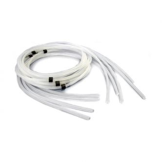 Silicone Tubing with stops, 1mm ID