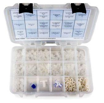 Luer-to-Tubing Coupler Assortment Kit