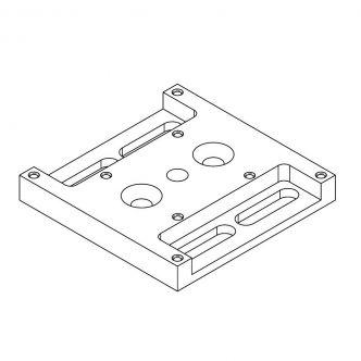 Mounting Adapter Plate for SU Manipulators