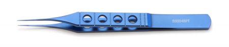Forceps, 11.5cm, Straight, 1x2 Teeth, tying platform