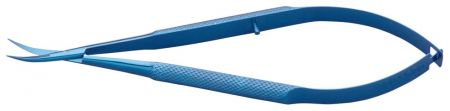 Castroviejo Curved Scissors, 12cm, Titanium