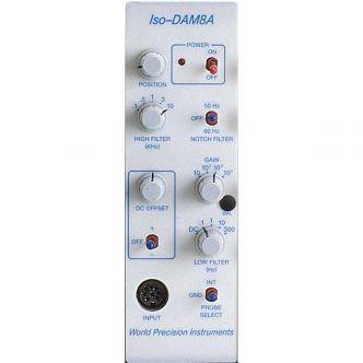 Isolated, Low Noise Bioamplifier Single Channel Module