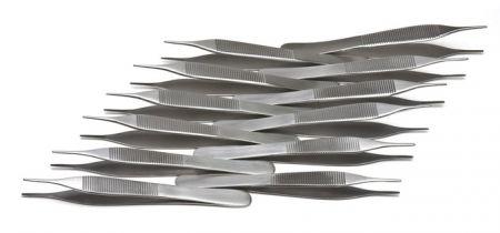 Adson Forceps, 12cm, 1x2 teeth, 12-pack
