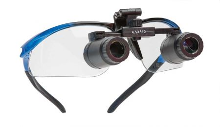Binocular Loupes with prism, 4.5x, 34cm