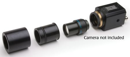 """C-Mount to Eyepiece Adapter Kit for 1/3"""" & 1/2"""" Video cameras"""