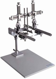 Parallel Rail Stereotaxic Instruments for Cat/Monkey