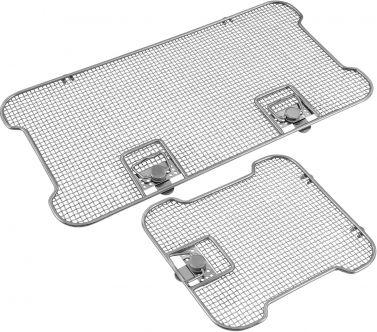 Lids for Crimped Wire Mesh Sterilization Baskets, Detention Frame