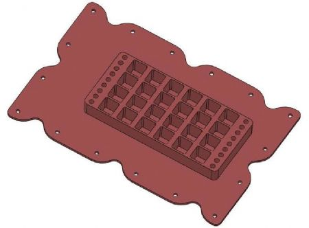 Optional 24-Well Plate for use with CS-MECHANSO-FX, pkg of 8
