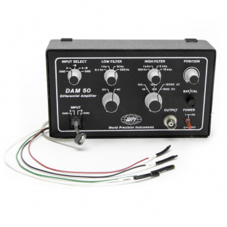 DAM50 Extracellular Amplifier