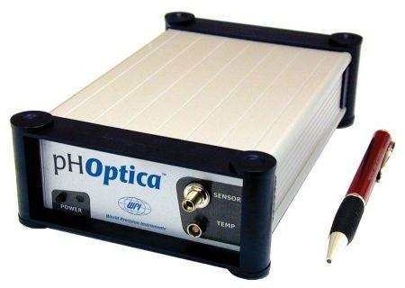 Fiber Optic pH Meter, Use with Microsensors