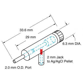 Microelectrode Holder (MEH6RF)