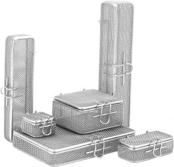 Micro Fine Mesh Baskets with Lids