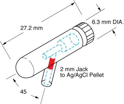 Microelectrode Holder (MEH3F45) 1.0mm OD