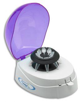 Mini Centrifuge, purple lid, 2 rotors, 240V