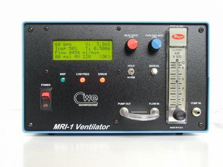 MRI-Compatible Ventilator for small animals