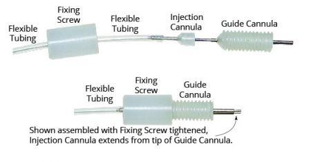 Flexible PE Tubing, 0.6mm ID, 1.1mm OD, 1m