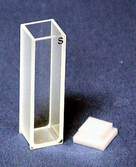 Standard Rectangular Optical Glass Cuvette, 10mm path, 10ct