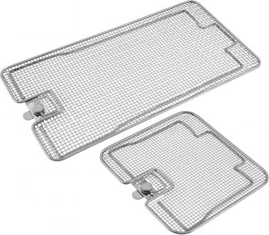 Lids for Wire Mesh Sterilization Baskets, Double Frame