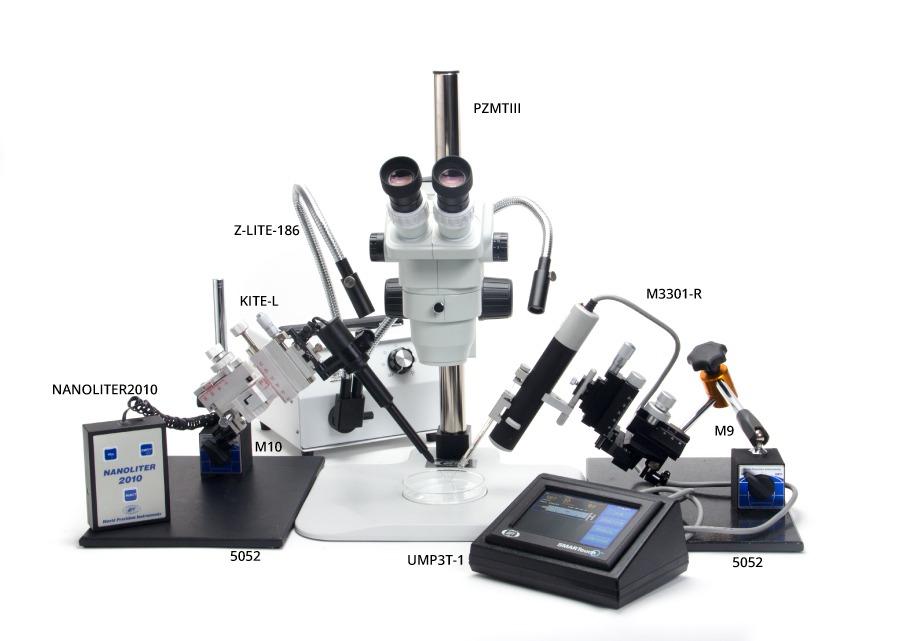 micro injection setup 101 world precision instruments