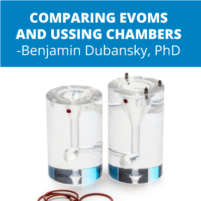 Researcher Compares the EVOM and an Ussing Chamber