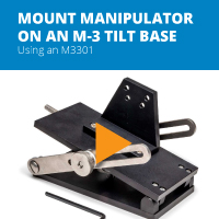 How to Mount an M3301 Micromanipulator on a Tilt Base