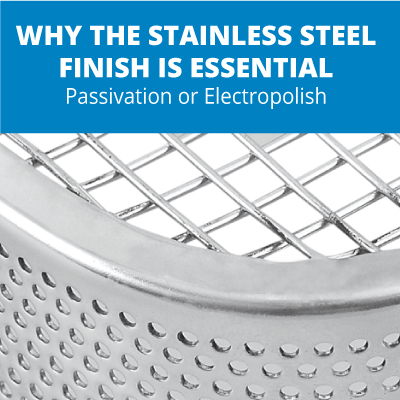 Why the Stainless Steel Finish is Essential