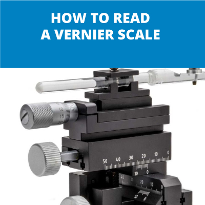 How to Read a Vernier Scale