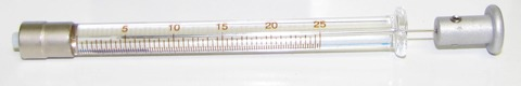 ILS025TLL 25uL syringe
